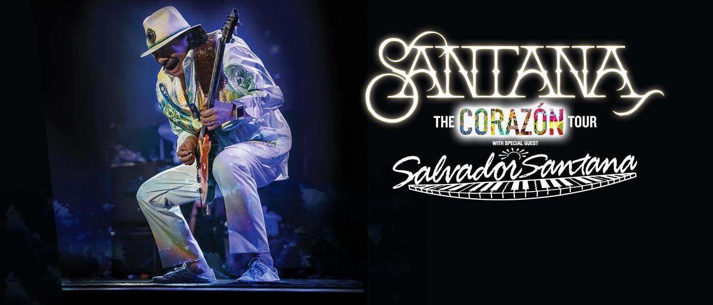 Santana Corazon Tour